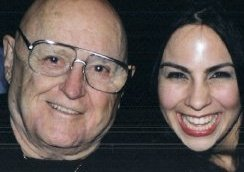 Corina and Rod Steiger at the L.A. Film Festival